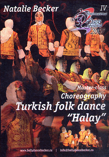"Natalia Becker - Turkish Folk Dance ""Halay"""