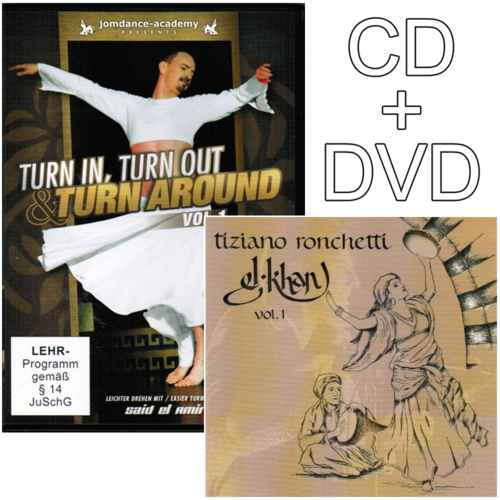 Said El Amir - Turn In, Turn Out & Turn Around Vol.1 (Set)
