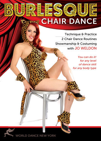 Jo Weldon - Burlesque - Chair Dance