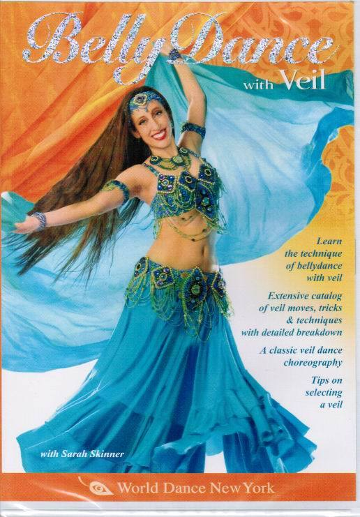Sarah Skinner - Belly Dance With Veil