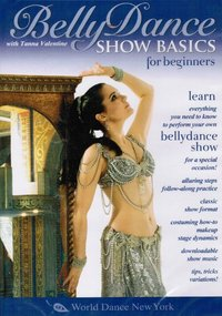 Tanna Valentine - Bellydance - Show Basics For Beginners