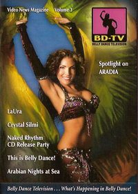 Belly Dance Television Video News Magazine Vol.3