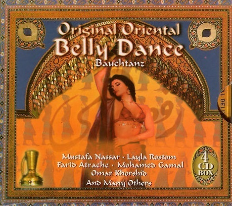 Original Oriental Belly Dance Bauchtanz (4 CD-Box)