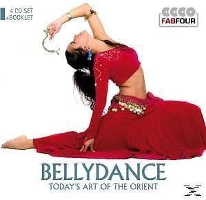Bellydance - Today's Art Of The Orient (4CD Set+Booklet)