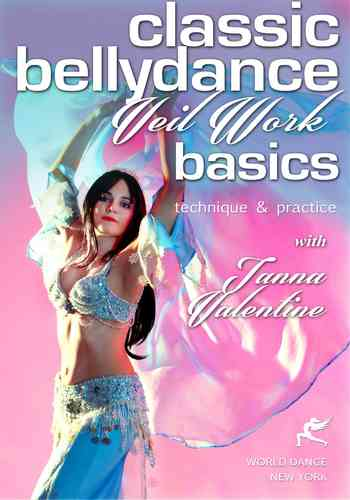 Tanna Valentine - Classic Belly Dance - Veil Work