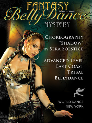 Sera Solstice - Shadow (Tribal Fusion Belly Dance Choreography)