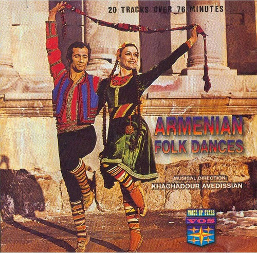 Daniel Der Sahakian presents Khachadour Avedissian – Armenian Folk Dances
