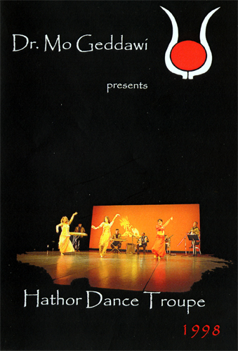 Mo Geddawi - Hathor Dance Troupe 1998 (DVD)